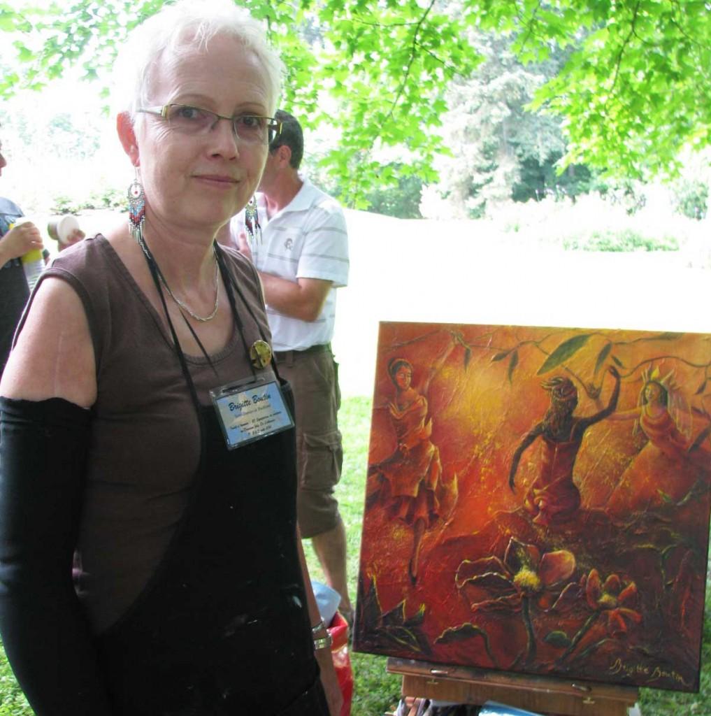 Un été haut en couleur pour Brigitte Boutin