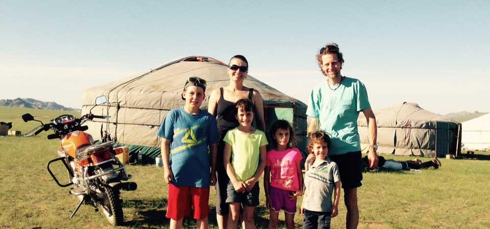 La Mongolie en famille